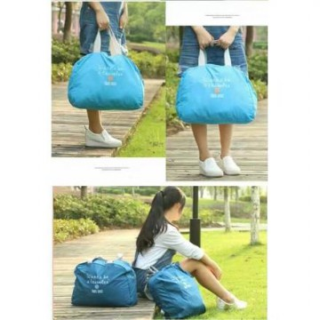 Foldable Travel Bag Hand Carry Tas Koper Lipat Luggage Organizer