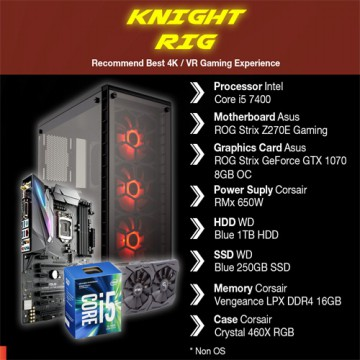 PC Gaming ROG Knight RIG