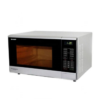 Sharp Touch Control Microwaves-R-380IN(S)-Silver