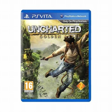 Sony PS Vita Uncharted: Golden Abyss DVD Game