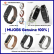 Stainless Steel Strap Mi Band 2 OLED MIJOBS Silver Black