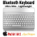 Wireless Bluetooth 3.0 Keyboard  iPad Air White/Silver