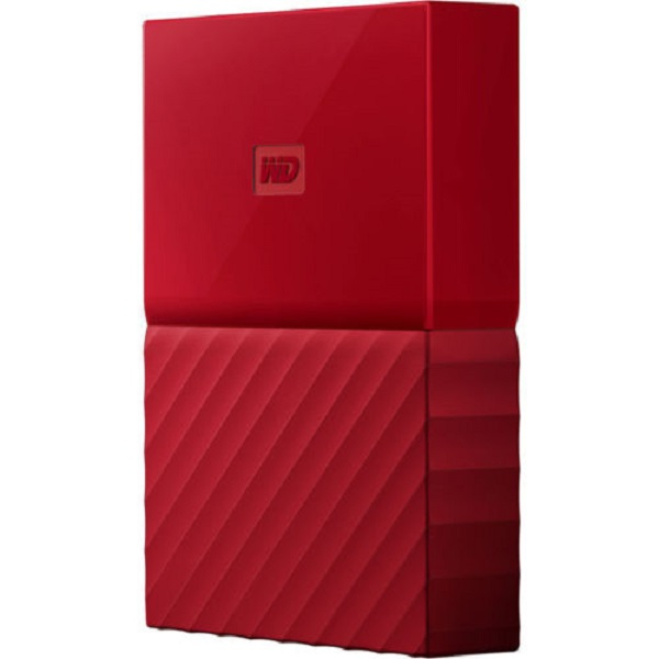 harga WD My Passport New Portable Hard Drive 1TB - Merah elevenia.co.id
