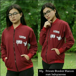 Private Bomber Maroon