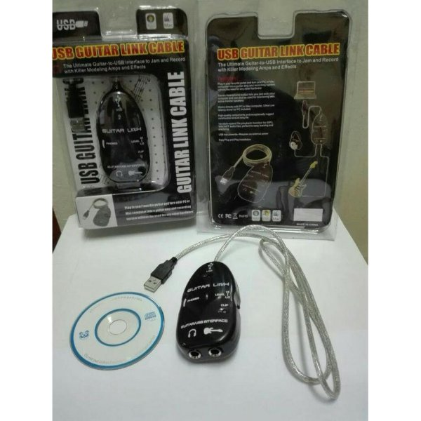 harga USB guitar link cable elevenia.co.id