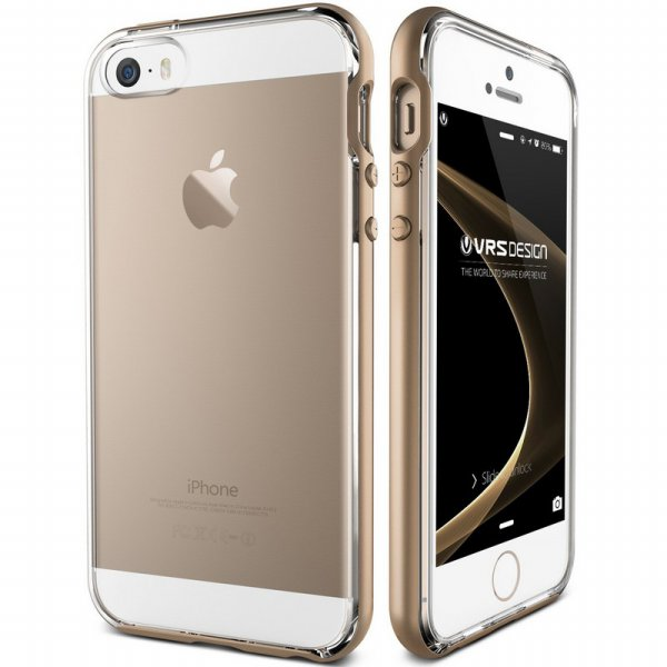 harga Verus Crystal Bumper iPhone SE/5/5s - Shine Gold elevenia.co.id