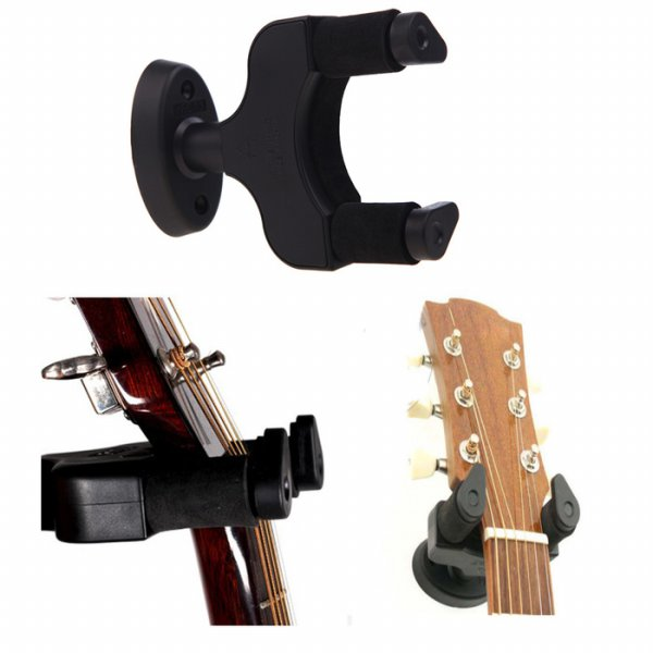 harga Wall Stand Guitar Gantung Hanger Gitar Bass Ukulele Acoustic electric elevenia.co.id