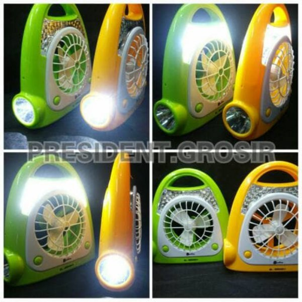 harga EMERGENCY LED LAMP FAN / KIPAS ANGIN LAMPU DARURAT BESTLIFE BL-MW2401 elevenia.co.id