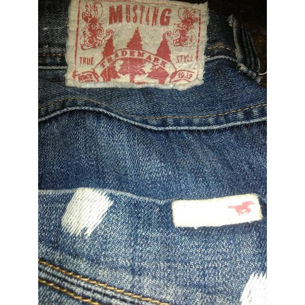 harga Celana jeans Mustang original not levis wrangler evisu bape Given chy supreme CDG versace dsquared2 Tommy DG elevenia.co.id