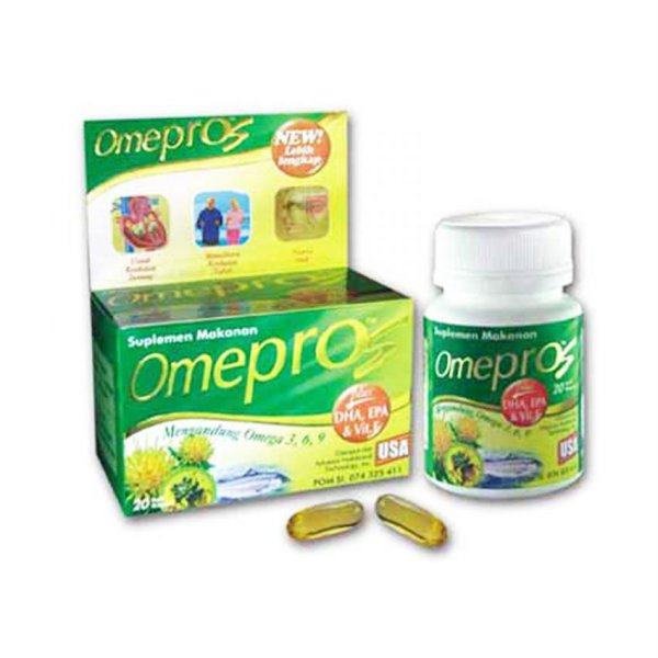 harga Omepros Capsules Food Supplement - 60 Softgel elevenia.co.id