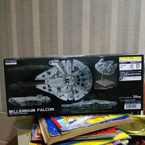 harga BANDAI MILLENIUM FALCON STARWARS THE FORCE AWAKENS 1/14 elevenia.co.id