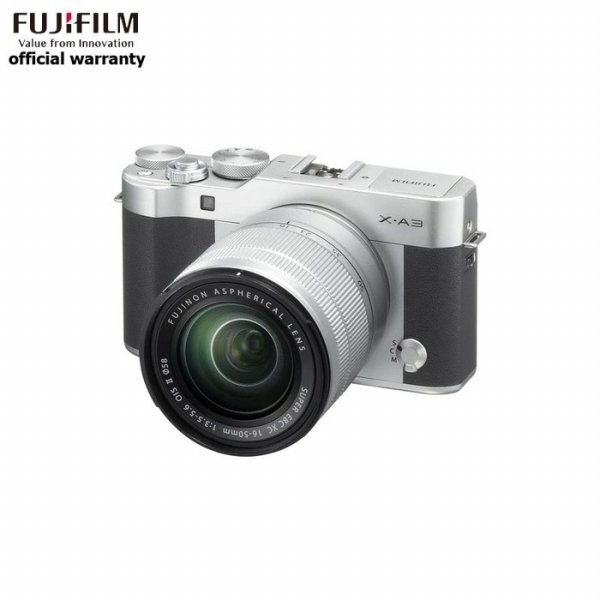 harga Fujifilm X-A3 Kit Lens 16-50mm Silver + Instax Mini 8 Yellow elevenia.co.id
