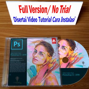 harga Adobe Photoshop CC 2018 Bonus CorelDRAW X8 elevenia.co.id