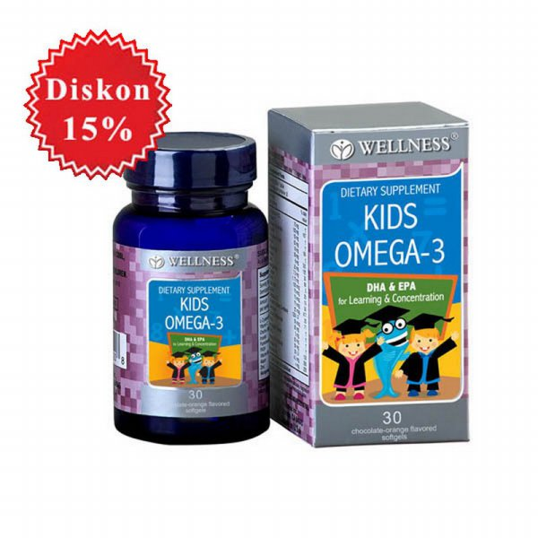 harga Wellness Kids Omega-3 / Omega 3 elevenia.co.id