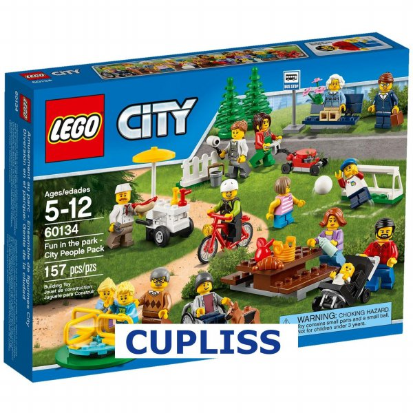 harga LEGO CIty 60134 Fun in the Park - City People Pack elevenia.co.id