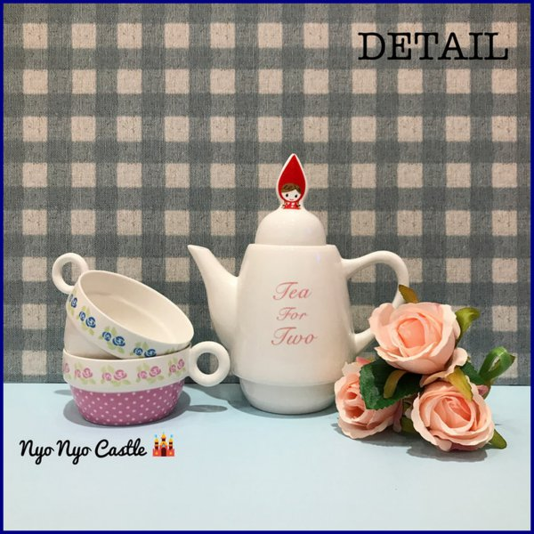 harga Set Teko / Tea Set Susun Keramik Red Riding Hood elevenia.co.id