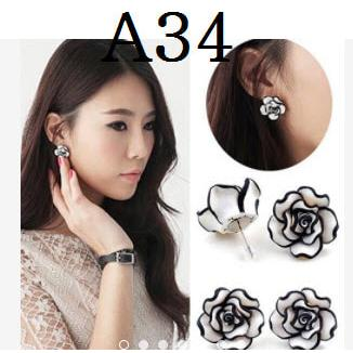 harga Anting Korea (Kalung gelang import cincin perhiasan set xuping) elevenia.co.id