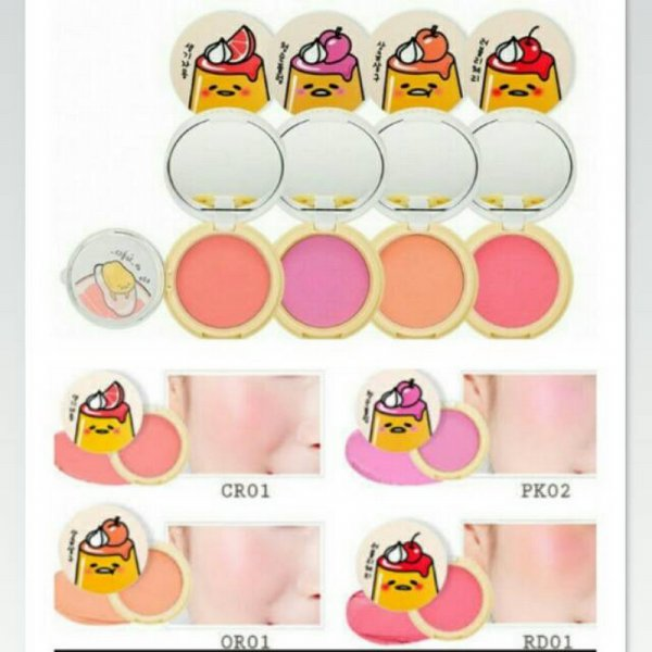 harga HOLIKA HOLIKA - GUDETAMA LAZY&JOY JELLY DOUGH BLUSHER elevenia.co.id