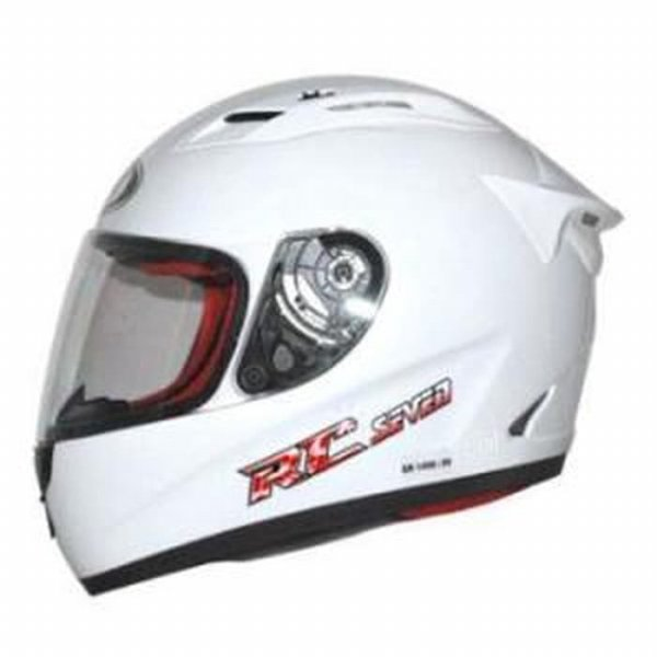 harga Helm KYT RC 7 Seven RC7 FullFace Full White Solid elevenia.co.id
