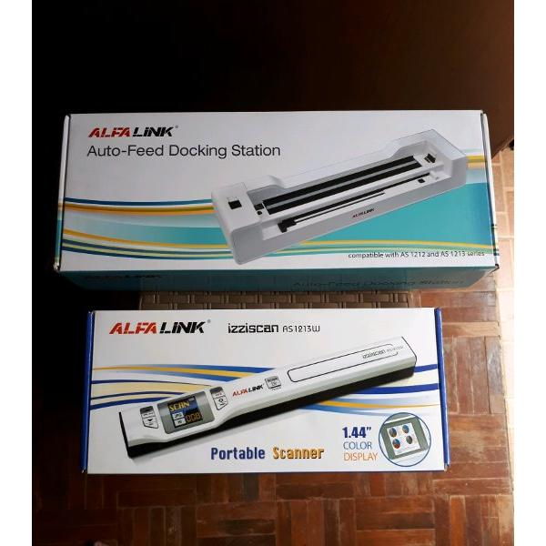 harga ALFALINK Scanner Portable Izziscan AS1213W Plus Docking Station elevenia.co.id