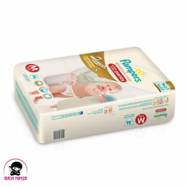 harga PAMPERS Premium Care Pants M46 / M 46 (khusus via Go-Se elevenia.co.id