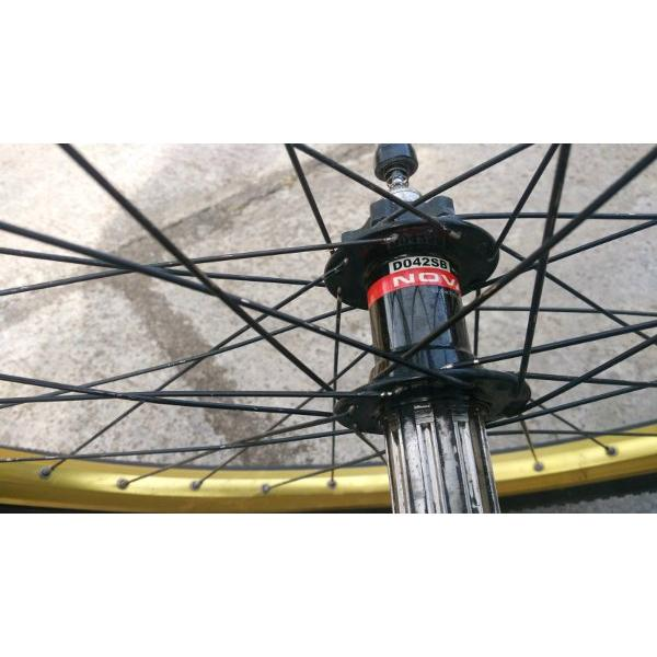 harga Wheel set Folker Fr Freehub novatec jangkriikk plus ban elevenia.co.id