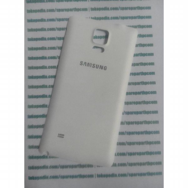 harga Back door back case samsung galaxy note 4 Putih elevenia.co.id