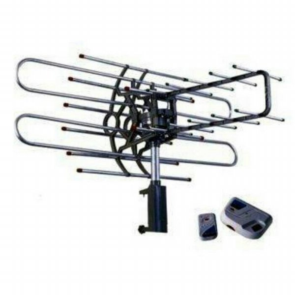 harga ANTENA TV LUAR REMOTE + BOSTER/LCD/LED/PLASMA/TABUNG ROTATE 360 elevenia.co.id
