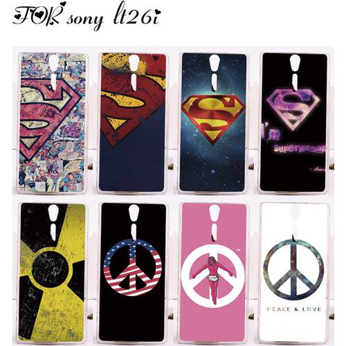[globalbuy] Custom Phone Cases For Sony Xperia S Lt26i SL Lt26ii Case Cover Luxury Superma/3728657