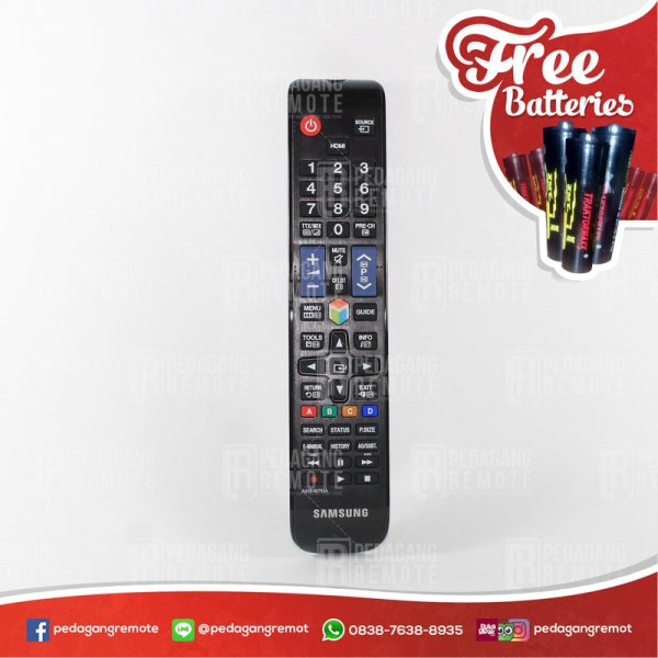 harga Remot/Remote TV SAMSUNG SMART LCD/LED AA59-00793A Ori/Original elevenia.co.id