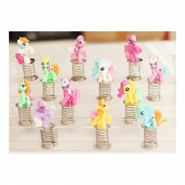 harga MINIATUR MY LITTLE PONY SPIRAL ISI 12 (903801039) elevenia.co.id