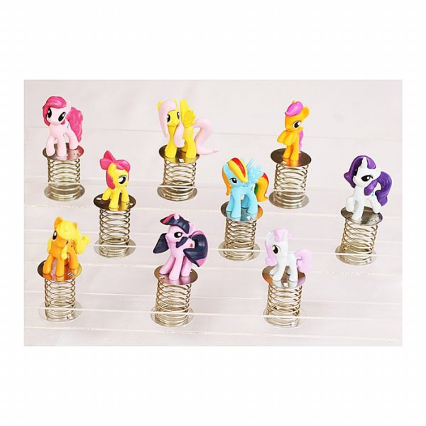 harga MINIATUR MY LITTLE PONY SPIRAL ISI 9 (903801036) elevenia.co.id