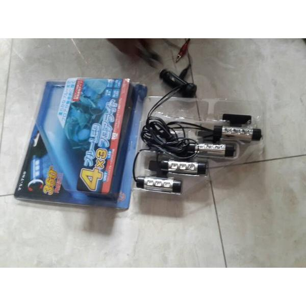 harga LED kolong dashboard / lampu footstep mobil model lighter TY-780 elevenia.co.id