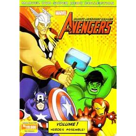 harga [DVD] Marvel The Avengers Earth's Mightiest Heroes vol.1 : Heroes Assemble! elevenia.co.id