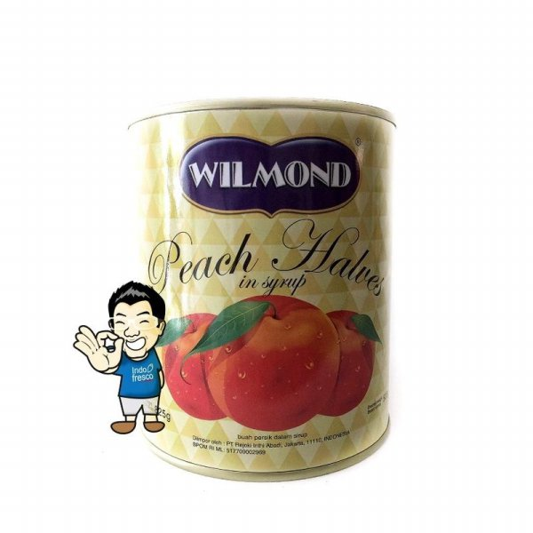 harga Wilmond Peach Halves In Syrup Canned- Buah Persik Kaleng 825g elevenia.co.id