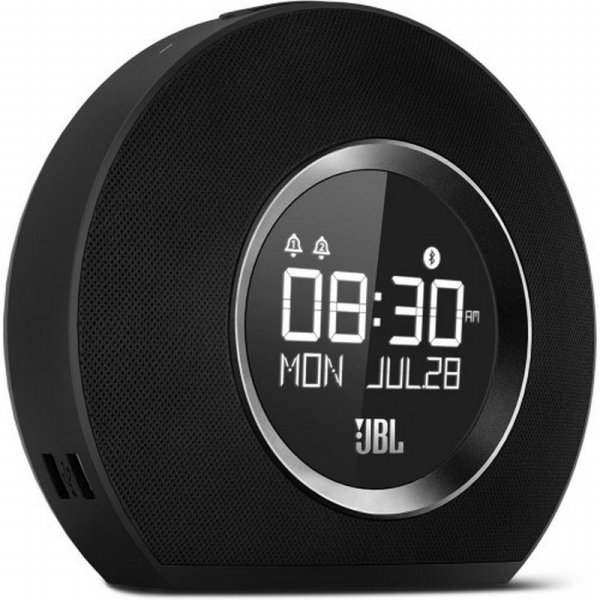 harga JBL Horizon Bluetooth clock radio with USB charging - Black elevenia.co.id