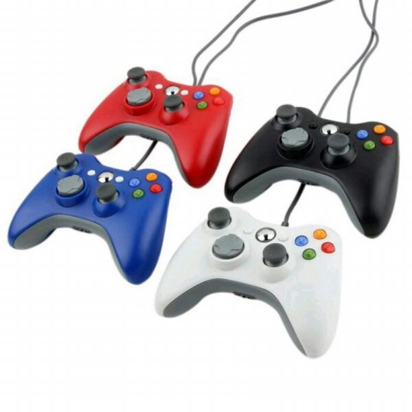 harga STIK PC XBOX 360 KABEL WIRED MICROSOFT STICK /JOYSTIK /CONTROLER elevenia.co.id
