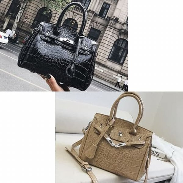 harga Tas Fashion Kelly Croco Import +Tas Kelly Import +Tas Like Hermes 2956 elevenia.co.id