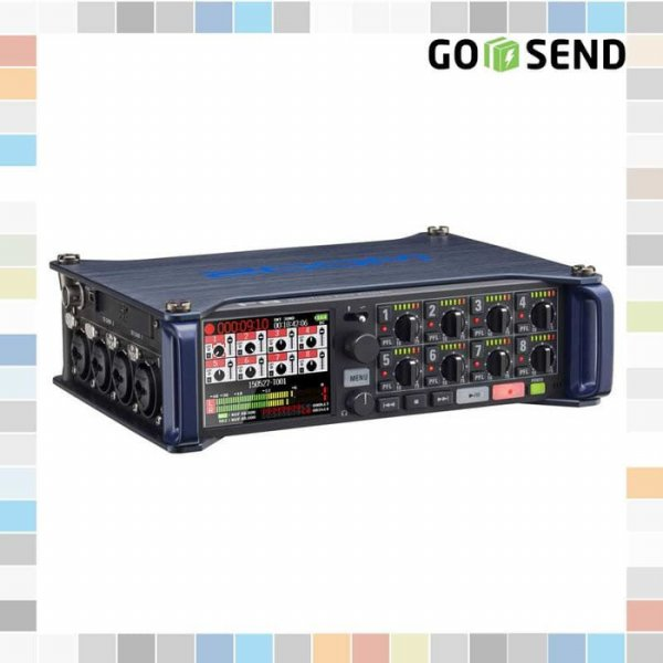 harga Zoom F8 Multi-Track Field Recorder Audio with Mixer elevenia.co.id