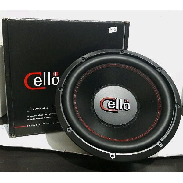 harga Subwoofer 12 inch Cello Double Coil S12 DVC 2 Ohm - Speaker Woofer Audio Mobil S 12 elevenia.co.id