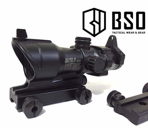 harga Scope Acog Trijicon Red Green Dot sight metal 4x32 for airsoftgun only elevenia.co.id
