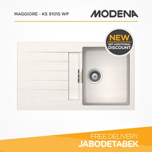 harga Kitchen Sink MODENA MAGGIORE - KS 9101S WP elevenia.co.id