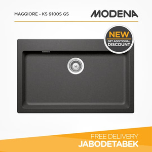 harga Kitchen Sink MODENA MAGGIORE - KS 9100S GS elevenia.co.id