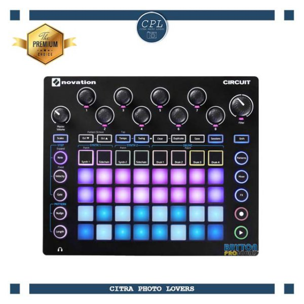 harga Novation Circuit (Portable 4 x 8 Pad Matrix Synthesizer Workstation) elevenia.co.id