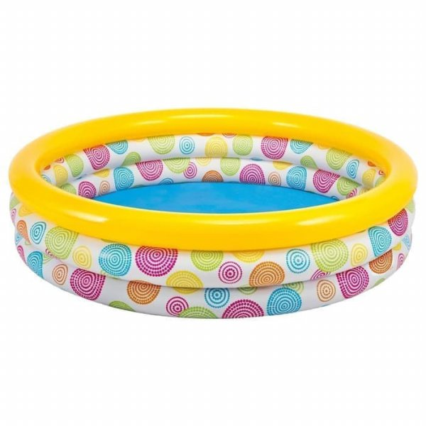 harga Kolam Renang Anak Jumbo INTEX 58449 Wild Geometry Pool elevenia.co.id