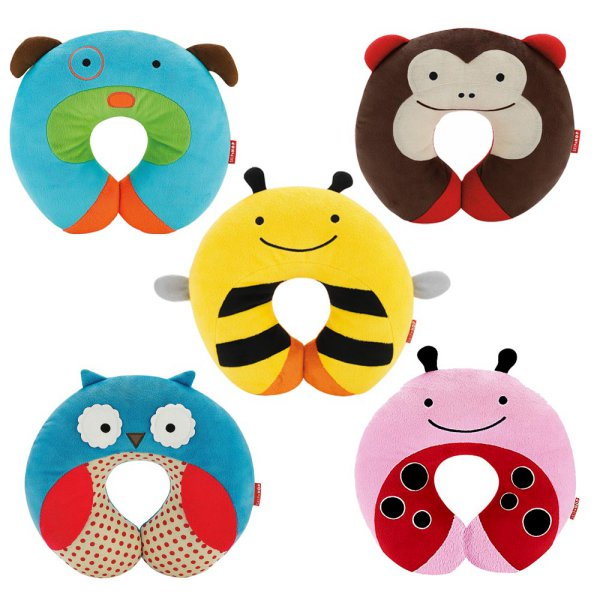 harga ORIGINAL Skip Hop Zoo Neck Rest - Bee / Dog / Ladybug / Monkey / Owl elevenia.co.id