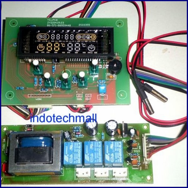 harga Temperature controller dan Fluorescent VFD display elevenia.co.id