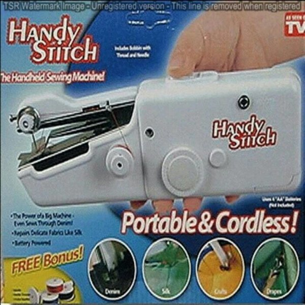 harga Promo Murah Handy Stitch / Mesin Jahit Portable / Sewing Machine / Plus Bubble elevenia.co.id