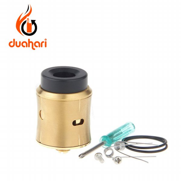 harga Sith Styled RDA Rebuildable Dripping Atomizer - GOLD elevenia.co.id