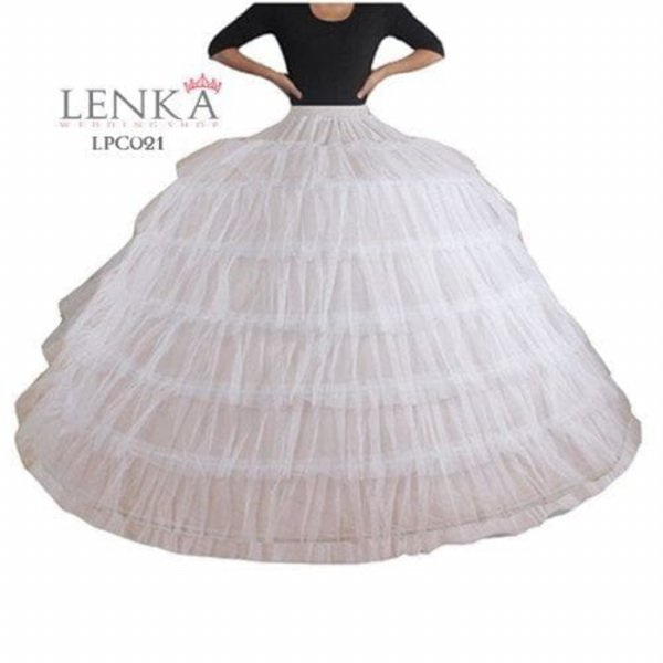 harga Petticoat Wedding Super Ball Gown 6Riing 6layer Tilel Lenka - LPC021 elevenia.co.id